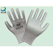 Polyester-Shell-Nitril beschichtete Sicherheits-Arbeitshandschuhe (N6008)