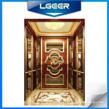 Деревянная Облицовка Пассажирский Лифт
