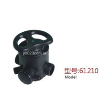 Runxin Válvula manual multipunto para suavizador de agua 61210 F64D