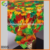 Popular PVC Printed Transparent Waterproof Dining Table Cloth inrolls