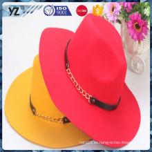 Sombrero óptico wowomen de la fibra de la venta superior de la venta de la fábrica para 2016