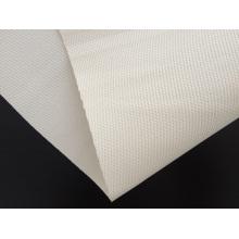 Tissu à haute teneur en silice avec revêtement en silicone