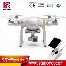 El más nuevo DJI Phantom 3 Profesional avanzado quadcopter RC Drone Quad Copter RTF GPS FPV con 4K 1080P HD Cámara Envío rápido
