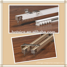 aluminium profile sliding window,champagne window curtain rails sliding