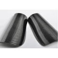 Carbon fiber knee guard
