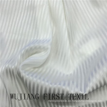 Tejido teñido sólido 16m / M de la raya del estiramiento de la seda