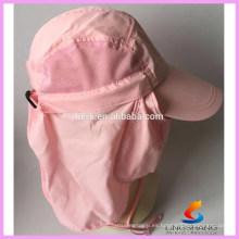 UV 50 + protección al aire libre Multifuncional Flap Cap con sombrero desmontable sombrero Shield y máscara facial perfecta para la pesca de senderismo
