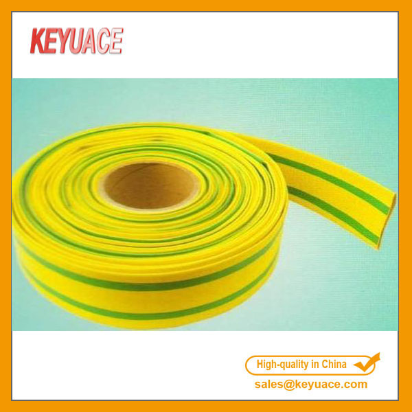 Yellow Green Pe Heat Shrink Tubing