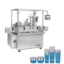 ISO certification automatic facial cream filling machine production line
