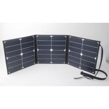 Material de silício monocristalino e painel solar dobrável de 280 * 280mm (dobrável)