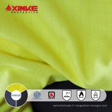 Tissu sergé anti-inflammable modulaire Xinke anti-statique