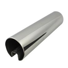 Tubo de ranura de acero inoxidable SUS 316 de alta calidad