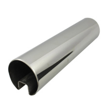 Tubo de ranhura de aço inoxidável 316 SUS de alta qualidade