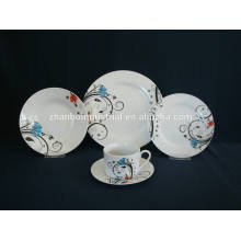 Ceramic tableware with cloud printing dinner set