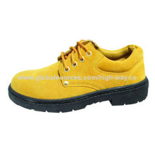 Low upper safety shoes