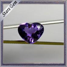 Особая Уникальная Форма Сердца Красивый Фиолетовый Натуральный Аметист