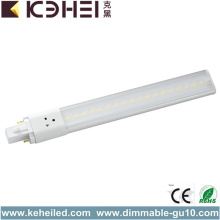 Hög Effektivitet G23 LED Tube Light 8W