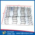 Junta de doble placa de clavos en acero galvanizado
