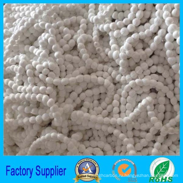 материал фильтра полиэфира волокна возобновляемых мяч для продажи