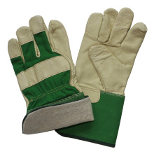 Pig Grain Leather Labor Safety Work Gloves