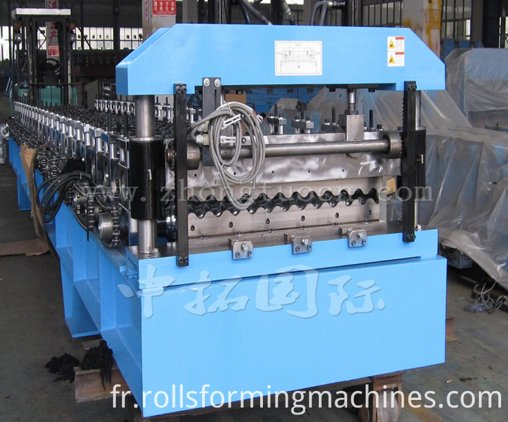 Corrugated board roll forming machine (1)