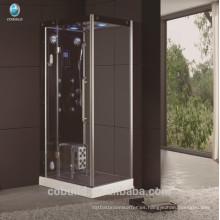 K-709 cabeza cuadrada ducha cerrada habitación de ducha de vapor bisagra apertura sala de vapor