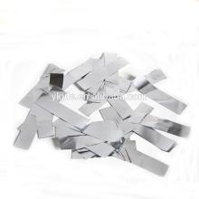 Canon de confettis de 12 '' Hot vente avec rectangle métallique rectangle