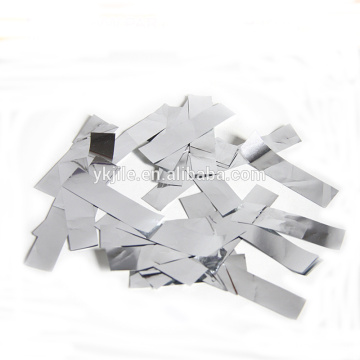 12'' Hot Selling Confetti Cannon with Sliver Metallic Rectangle