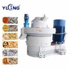 Машина для производства топливных гранул с биомассой