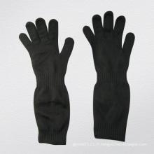 Gant anti-coupure à double couche en acier-2358