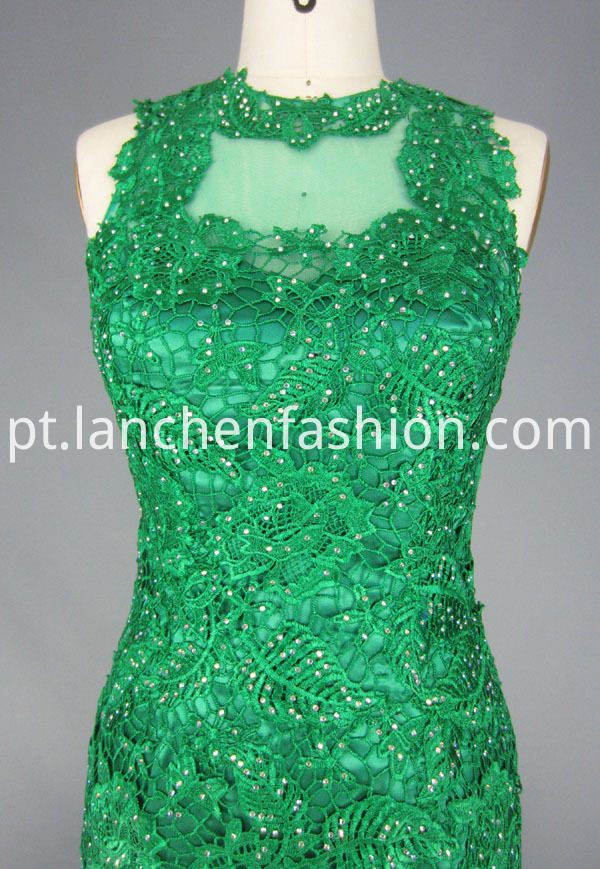 Beaded Prom Gown