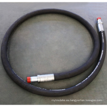 Espiral de la manguera de perforación de alambre de goma