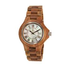 Reloj de pulsera de alta calidad Hlw085 OEM de madera y reloj de madera Bamboo Watch