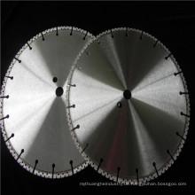 China-Lieferant vakuumgelötete Diamant sah Scheibe für Wand