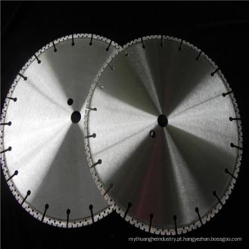 o fornecedor da qualidade da porcelana do vácuo soldou o disco da serra do diamante para a parede