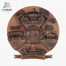 3D Wholesale High Quality Custom Metal Commemorate Plate for Veitnam