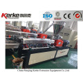 lab equipment twin screw waste plastic granulator