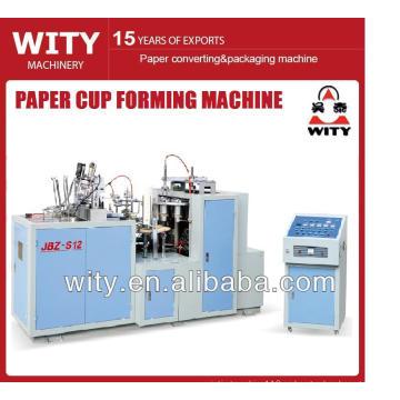 Máquina formadora de vasos de papel