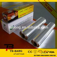 Feuille d'aluminium ménager de 0,01 mm d'épaisseur 8011 O