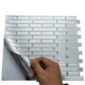 Waterproof Vinyl Mosaic Self Adhesive Peel and Stick