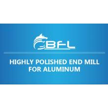 BFL CNC Carbide Aluminium 3 Flute End Mill, Uncoating For Aluminium Cutting