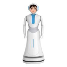 Интерактивные говорящие роботы для отеля Welcome