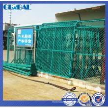 A cerca de fio personalizada de venda quente para o campo de jogos / oficina isolou o sistema da cerca