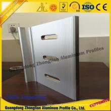 Profil en aluminium d'extrusion avec le profil d'usinage de traitement profond de commande numérique par ordinateur