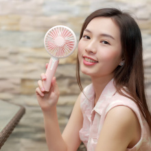 Newest Design Handheld 5 Blades Desktop Electronic Fan