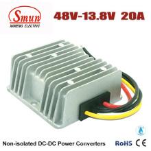 48vdc к 13.8 В постоянного тока 20А 276W постоянного тока DC понижающий преобразователь