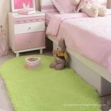 tapis de coureur vert et tapis pour l'usine en gros de salon