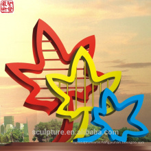2016 New Modern Sculpture High Quality Fashion Urban Statue Successful case