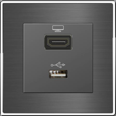 HDMI and USB Socket