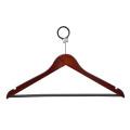 Wooded Clothes Hanger Coat Hanger with Metal Hook